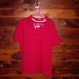 Other - 3 piece lot of red polo uniform shirts